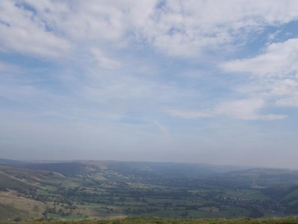 Mam Tor summit view