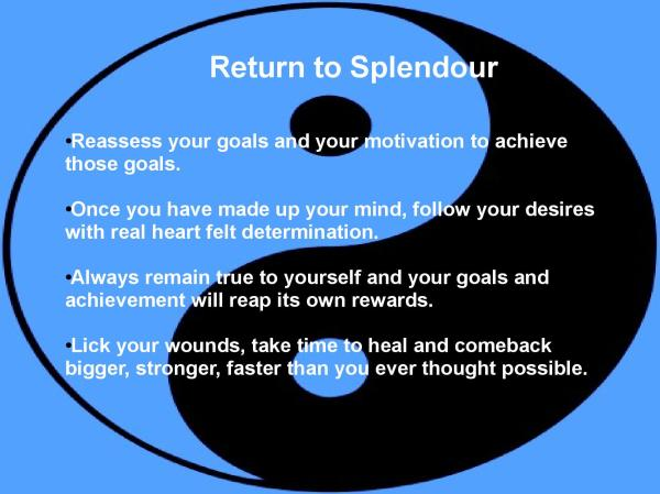 Return to splendour