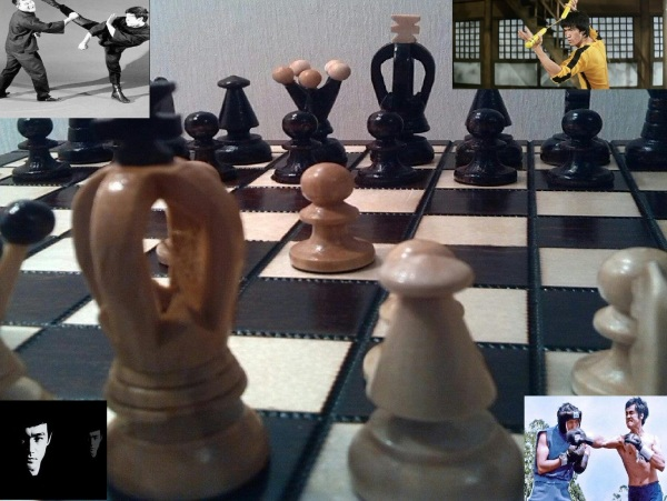 Bruce Lee & Chess